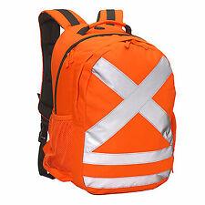 Caribee Calibre 26L Safety Daypack Backpack HI VIS ORANGE