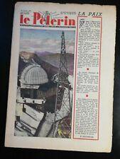 N154 Le Pèlerin N 3454 23 janvier 1949 Pat'apouf, l'observatoire du Pic du Midi