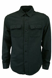 MENS NEW AE American Eagle Outfitters CASUAL LONG SLEEVE SHIRT sizes XS-L GREY