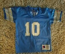 Champion Youth Size M 5-6 DETROIT LIONS CHARLIE BATCH #10 JERSEY