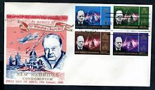New Hebrides (English) - 1966 Churchill Illustrated First Day Cover