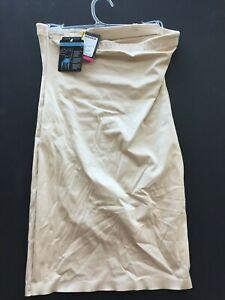 Maidenform shapewear size M beige NEW slimmer with briefs tummy hip smoother