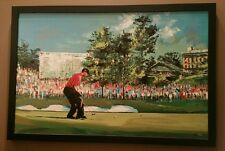 Tiger Woods Signed Autographed 2008 US OPEN CHAMPION UDA Malcolm Farley Giclee