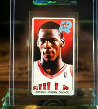 Michael Jordan Rookie RC Card 1984 Chicago Bulls Rookie Tobacco Card