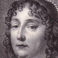 Portrait XIXe Madeleine de Scudéry Georges de Scudery Sappho Femme de Lettres