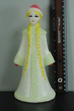Vintage USSR Russian Soviet Snegurochka Snow Maiden Girl Doll Toy