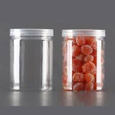 1XTransparent Sealed Cans Storage Box Plastic Storage Tank Food Candy Container