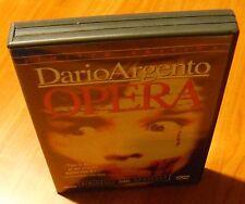 OPERA Dario Argento - Limited Edition (DVD + CD Soundtrack) ANCHOR BAY !! RARE !