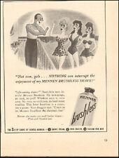 1941 Vintage ad for Mennen Brushless`Shaving Cream Art  (042717)