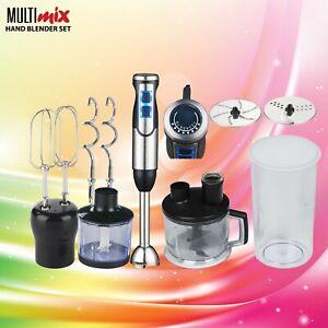 Multimix Quick 9 Hand Blender Black Stainless Steel 1000W 8 setting not Braun