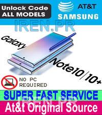 ATT PREMIUM FACTORY UNLOCK SERVICE AT&T SAMSUNG GALAXY NOTE10 NOTE10 +