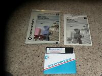 Retail Industry Commodore 64 Program with manual and box