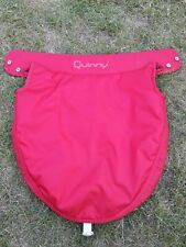 Quinny Dreami Carrycot Apron Red Press Stud 210107C/6055 Polyester Pram