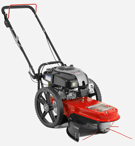 "Cobra WT56B 22"" Wheeled Lawn Trimmer Grass Strimmer Powered By Briggs & Stratton"