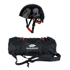Outdoor Rock Climbing Rope Bag Sings Cords Backpack Pouch & Safety Helmet