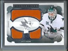 Antti Niemi 13/14 Upper Deck The Cup Game Used Jersey #07/25