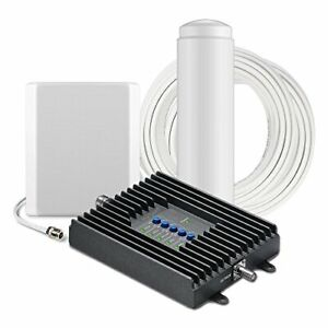 SureCall Fusion4Home Omni/Panel, Signal Booster Kit for 3G/4G LTE up to 3,000