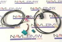 BMW CCC CIC Navigation Nachrüst-Kabelsatz USB AUX, idrive, Monitor Stromanschlus