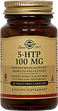 5-HTP, Solgar, 30 capsule 100 mg