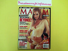 Beyonce Bootylicious New Music Concert Rare Diva R&B Pop Music Maxim 2002