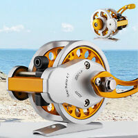 High Speed Spinning Fishing Reels Baitcasting Reel Saltwater Hand Bait Feeder US