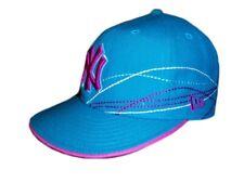 New York Yankees NY New Era Genuine Hat Cap Dark Turquoise Violet 7 1/4  57.7cm