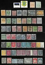 Collection of Old Stamps - Estonia . . . . . . 2 pages