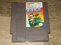 Dig Dug II 2 Nintendo Nes Cleaned & Tested Authentic