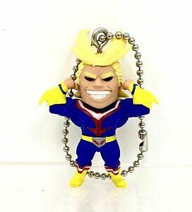 My Hero Academia Swing Mascot PVC Keychain Charm SD Figure All Might @8327
