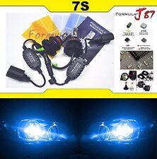 LED Kit 7S 50W 9004 HB1 10000K Blue Head Light Two Bulbs Dual Beam Upgrade Lamp