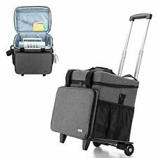 Overlock Sewing Machine Case with Detachable Trolley Dolly, Serger Case