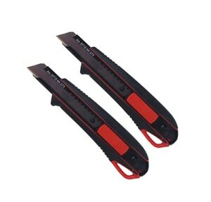 2x Würth 2K Cuttermesser 18mm + 6 Klingen extrem Scharf 071566275 Teppichmesser