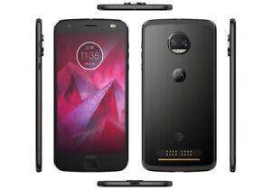 Motorola Moto Z2 Force Model XT1789 64GB (GSM Unlocked) Smartphones - Black