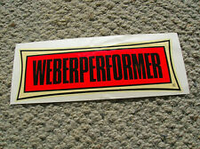 Vintage Dewey Weber performer Water slide surfboard decal longboard 1960s large