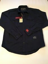 New REPLAY Men's Jeans Shirt Size XL REPLAY BLUE JEANS Button Down Shirt