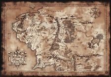 LORD OF THE RINGS Poster Map (98x68)