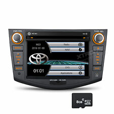 "7"" HD Digital Car GPS Stereo Navigation Radio DVD Player 2 DIN for TOYOTA RAV4"