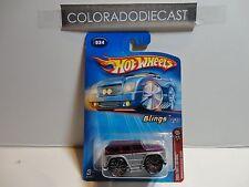 2005 Hot Wheels #34 Purple/Silver Mercedes Benz G500 w/Bling Wheels