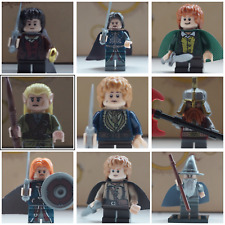 Lord of the Rings custom brand mini figures gandalf tolkien  fits with lego