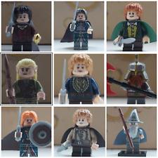 Lord of the Rings custom brand mini figures gandalf legolas aragorn tolkien