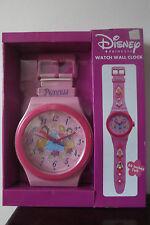 Disney Princess Licensed HUGE Watch Wall Clock Cinderella Beauty Snow White