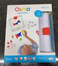 Osmo Genius Kit  Base + Games For Ipad 2-5 Play Experience Award winning