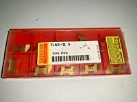 SANDVIK TLAS-3L 5 225 P25 Top Lok Inserts for Grooving Pack of 10 Acme threading