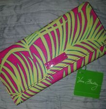 VERA BRADLEY TRIFOLD WALLET PALM FRONDS B.B. PVC COLLECTION NWT & FREE SHIPPING