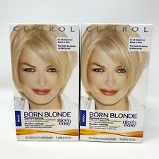 2 - Clairol Nice 'N Easy Born Blonde Hair Color Maximum Blonding NEW