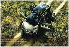 Publicité Advertising 2010 (2 pages) Opel meriva