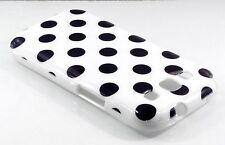 Samsung Galaxy S3 i9300 blanco con puntos negros piel Funda Puntos Polka