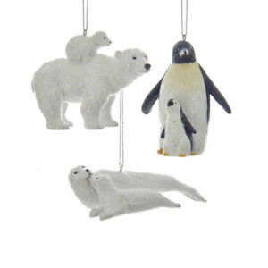 Arctic Animal w/Baby Ornament