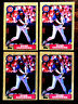 1987 Topps TIFFANY RYNE SANDBERG ~ 4 CARDS LOT ~ HOF CHICAGO CUBS 2B