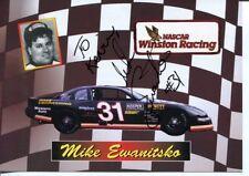 Mike Ewanitsko NASCAR Modified Camping World Truck Driver Signed Autograph Photo